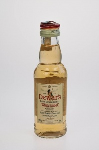 35. Dewar's Finest Scotch Whisky White Label